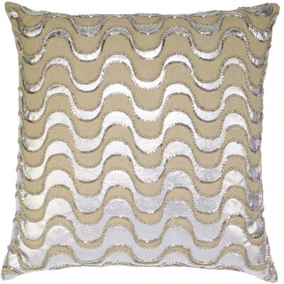 Mcgray Squiggle Linen Pillow Cover