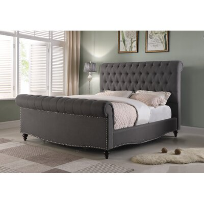 Pendle Panel Bed Size: King