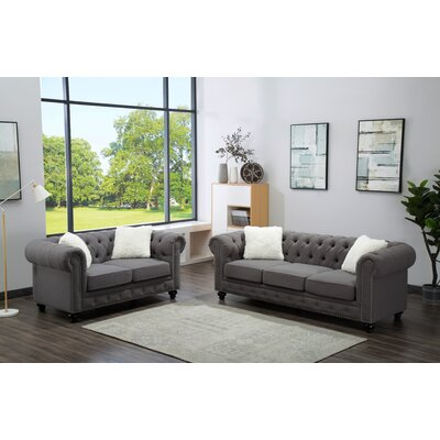Howse 2 Piece Living Room Set