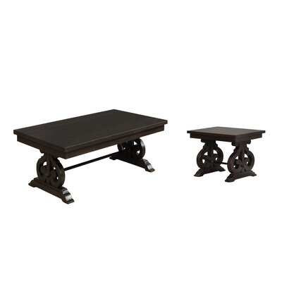 Albro 2 Piece Coffee Table Set