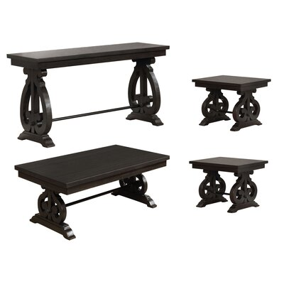 Alcazar 4 Piece Coffee Table Set