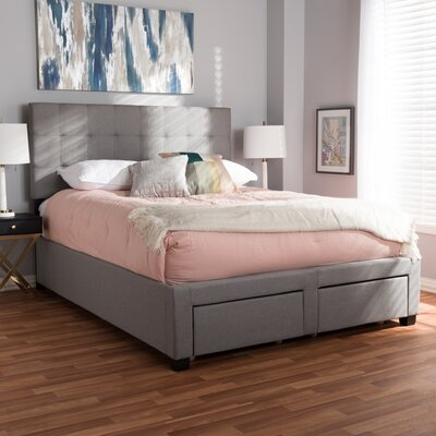 Eley Upholstered Storage Platform Bed Size: Queen