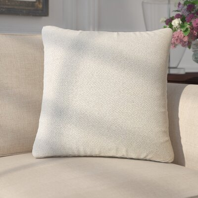 Merlyn Solid Throw Pillow Color: Taupe