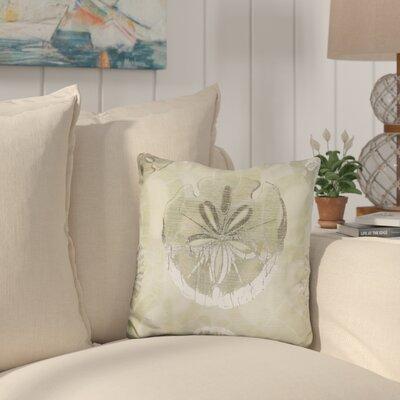 Burrus Metallic Shell Tiles Throw Pillow