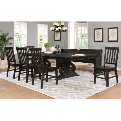 Alday 7 Piece Dining Table Set