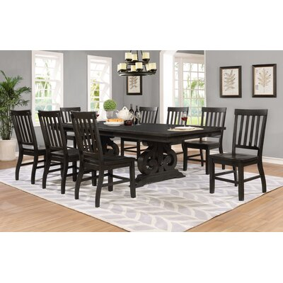 Alderete 9 Piece Dining Table Set