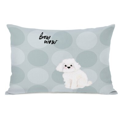 Deebes Cockapoo Lumbar Pillow