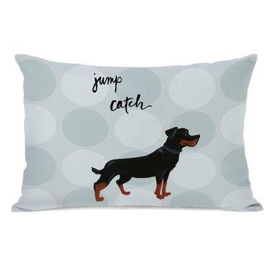 Cius Rottweiler Lumbar Pillow
