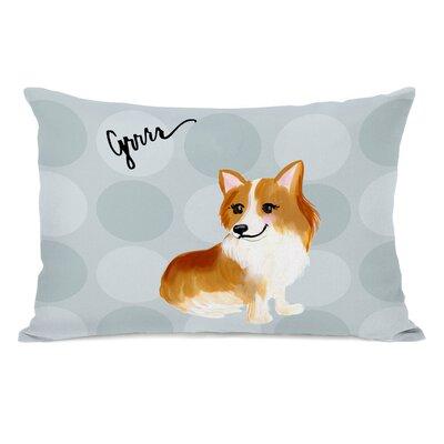 Dorris Corgi Lumbar Pillow