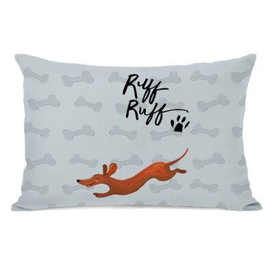 Sexton Ruff Ruff Doggie Lumbar Pillow