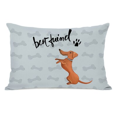 Doerr Best Friend Doggie Lumbar Pillow
