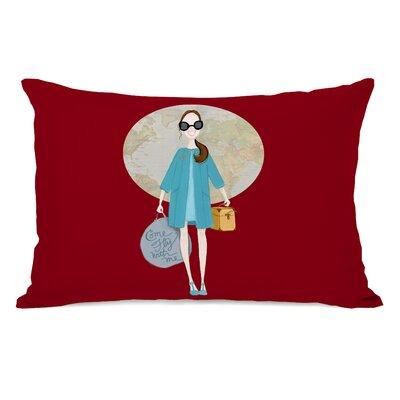 Osei Come Fly with Me Girl Lumbar Pillow