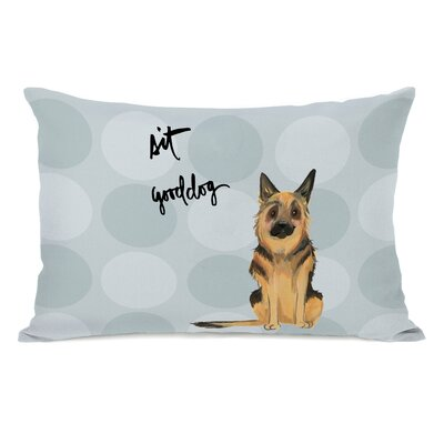 Musman German Shepard Lumbar Pillow