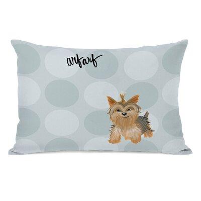 Vigil Yorkie Lumbar Pillow