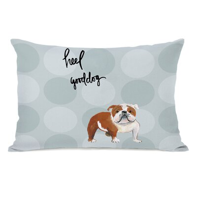 Chetram English Bulldog Lumbar Pillow