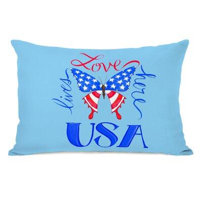 Fontana USA Butterfly Lumbar Pillow