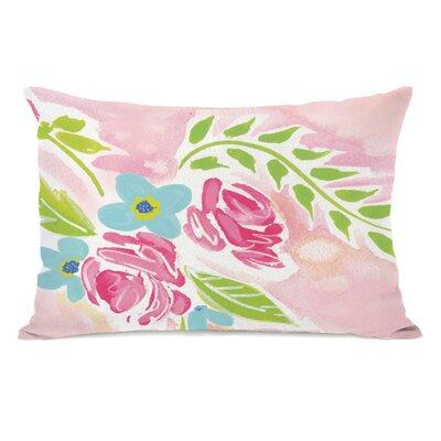 Holm Flowers Lumbar Pillow