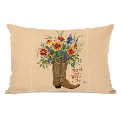 Gayle All Good Things Boot Lumbar Pillow