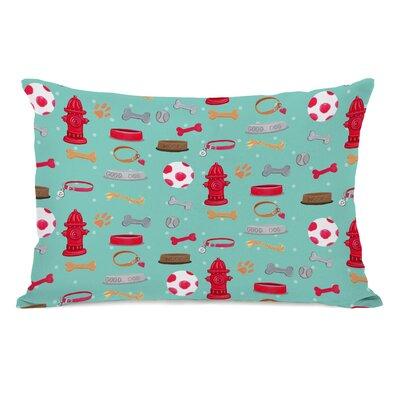 Lawal Dogs Favorite Things Lumbar Pillow
