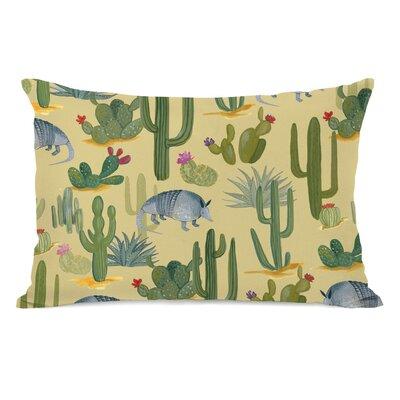 Pasternak Aardvark Cactus Lumbar Pillow