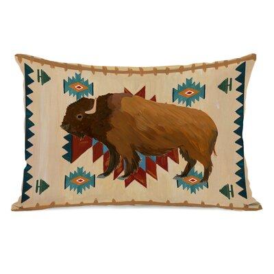 Spinella Bison Aztec Lumbar Pillow