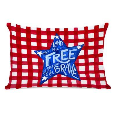 Zamorano Land of The Free Lumbar Pillow