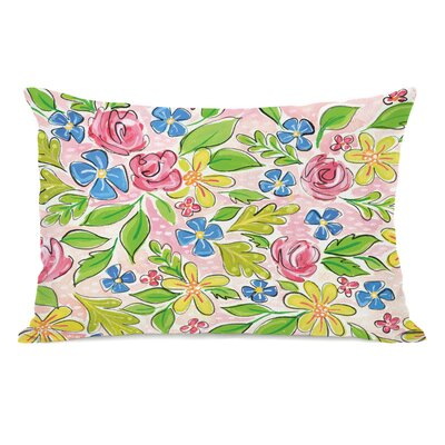 Pettaway Flowers Lumbar Pillow