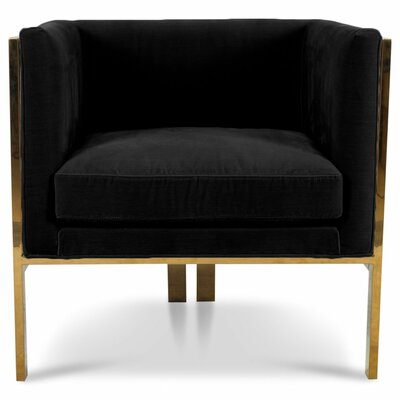 Kingpin Armchair Upholstery: Black