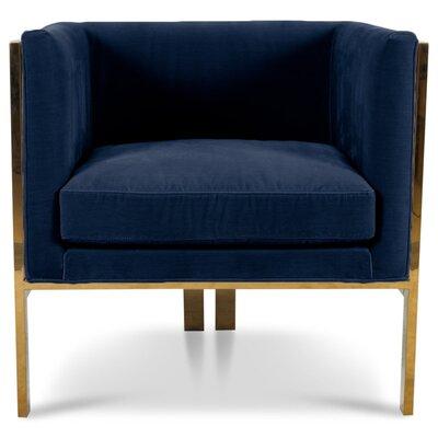 Kingpin Armchair Upholstery: Indigo Blue
