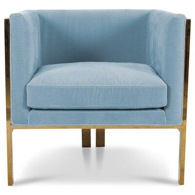 Kingpin Armchair Upholstery: Capri Blue
