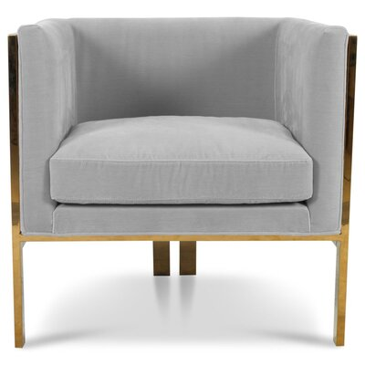 Kingpin Armchair Upholstery: Shark Skin