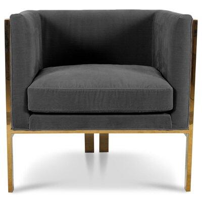 Kingpin Armchair Upholstery: Dark Gray