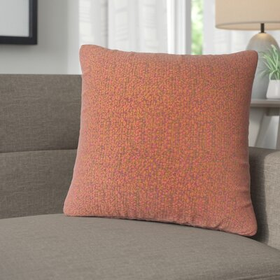 Milania Woven Throw Pillow Color: Fiesta