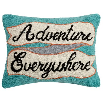 Durso Adventure Everywhere Wool Throw Pillow