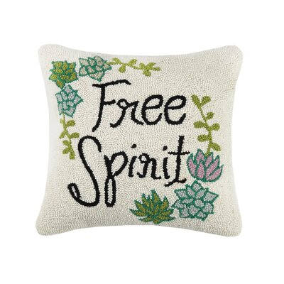 Pardee Free Spirit Wool Throw Pillow