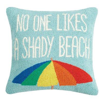Hocking Shady Beach Wool Throw Pillow