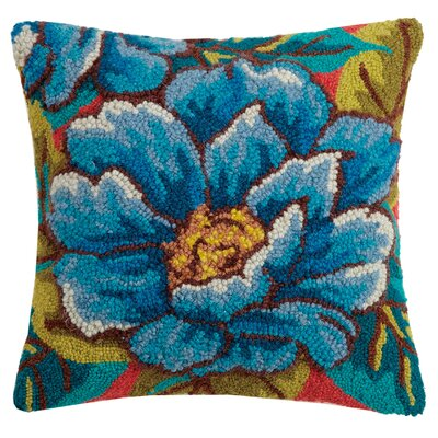 Paramore Peony Wool Throw Pillow