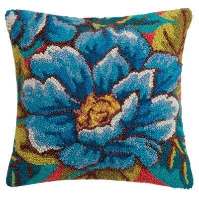 Paramore Peony Wool Throw Pillow