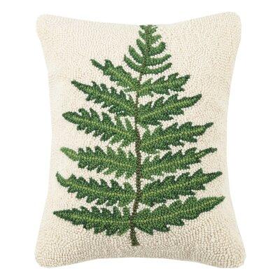 Ratzlaff Large Fern Wool Throw Pillow