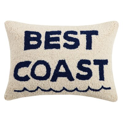 Hirano Best Coast Wool Throw Pillow