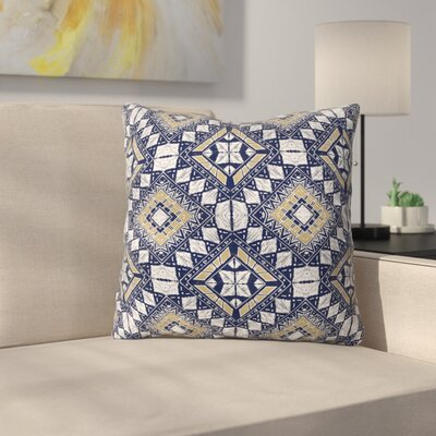 Marta Barragan Camarasa Mystic Tribal Throw Pillow Color: Navy, Size: 26 x 26