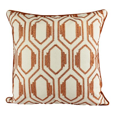 Cataldo Embroidery Cotton Throw Pillow