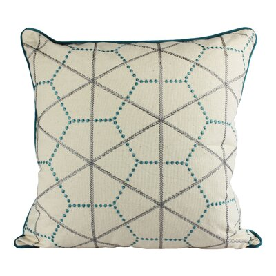 Dowdle Embroidery Cotton Throw Pillow