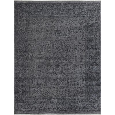 One-of-a-Kind Palmquist Hand-Knotted Gray/Charcoal Area Rug