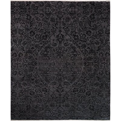 One-of-a-Kind Palmquist Hand-Knotted Charcoal/Gray Area Rug