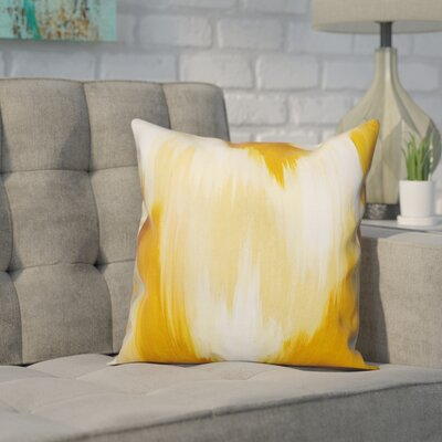 Lansdale Pillow Cover Color: Yellow, Size: 20 x 20