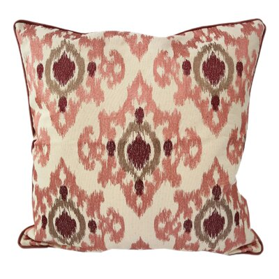 Palafox Woven Cotton Throw Pillow