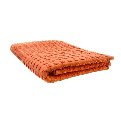 Yorkshire Piano Bath Sheet Color: Orange