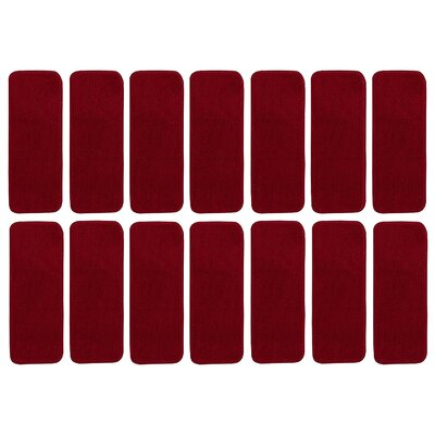 Fagaras Solid Red Stair Tread