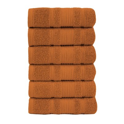Yorkshire Hand Towel Color: Orange